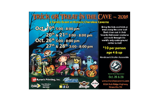 Cherokee Caverns - Trick or Treat in the Cave